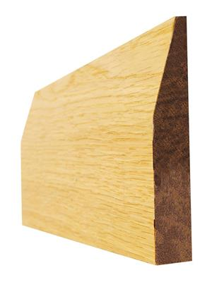 OAK 6 IN CHAMFERED PRE-FIN SKIRT 16X138X3.6M(5PCS)