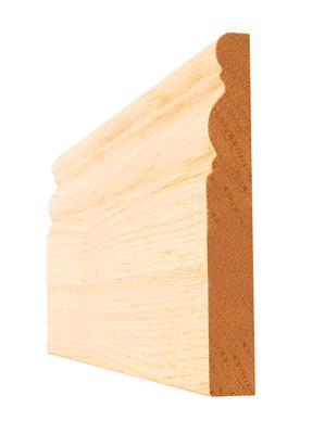 OAK 6 INCH OGEE PRE-FIN SKIRTING 16X138X3.6M(5PCS)