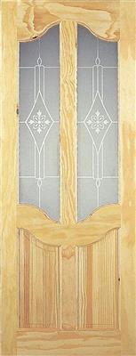 PEMBROKE PINE ACID ETCHED GLAZED DOOR 78X30X42MM