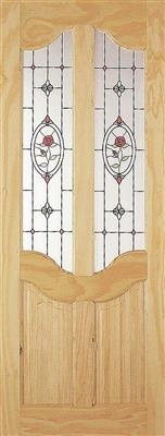 PEMBROKE PINE ROSE JEWEL DOOR 80X32X42MM