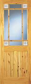 CHERBURY GLAZED DOOR 78X30X42mm