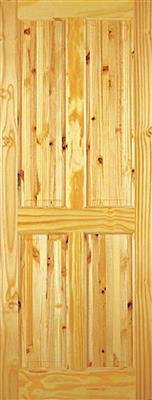 ASHFORD PINE DOOR 78x28x42mm 4 PANEL