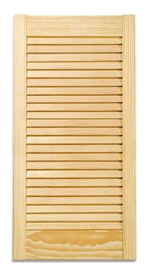 PINE LOUVRE DOOR 72X12 INCHES