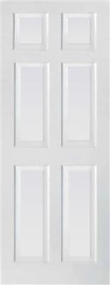 TORONTO 6 PANEL PRIMED DOOR 80X34X44MM