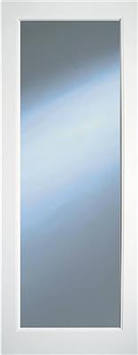KENMORE WHITE PRIMED CLEAR GLAZED DOOR 80X32
