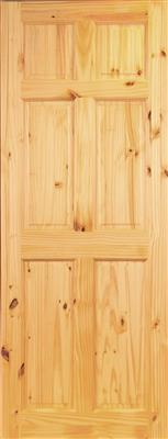 STAFFORD PREFINISHED 6P PINE DOOR 78X30X44mm