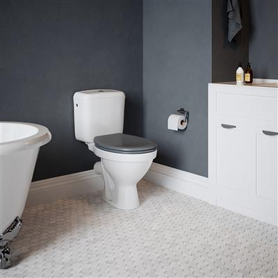 TEMA OPAL DELUXE SOFT CLOSE TOILET SEAT GREY
