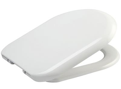 EUROSHOWERS D-SHAPE SOFT CLOSE TOILET SEAT