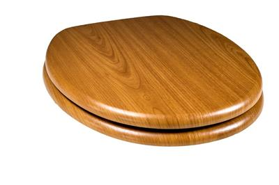 TEMA WOODLAND INSPIRED TOILET SEAT OAK