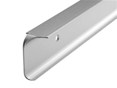 WORKTOP SILVER 38MM  CORNER JOINT 6MM PROFILE